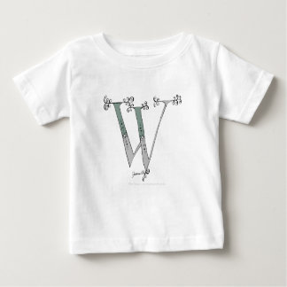 Magical Letter W from tony fernandes design Baby T-Shirt
