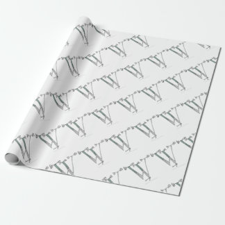 Magical Letter W from tony fernandes design Wrapping Paper