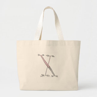 Magical Letter X from tony fernandes design Large Tote Bag