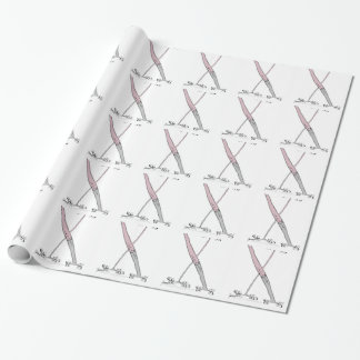 Magical Letter X from tony fernandes design Wrapping Paper