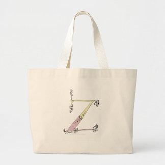 Magical Letter Z from tony fernandes design Large Tote Bag