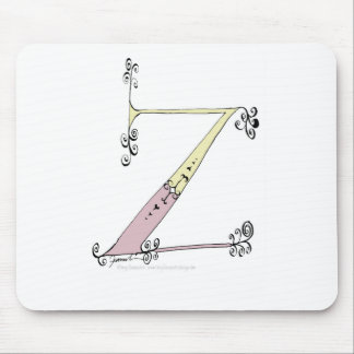 Magical Letter Z from tony fernandes design Mouse Pad
