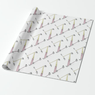Magical Letter Z from tony fernandes design Wrapping Paper