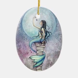 Magical Meramid Ornament by Molly Harrison