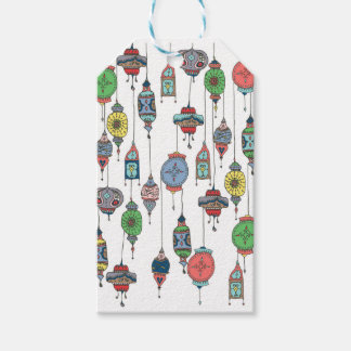 Magical Moroccan Lanterns Gift Tag Pack Of Gift Tags