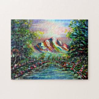 magical mountain jigsaw puzzle