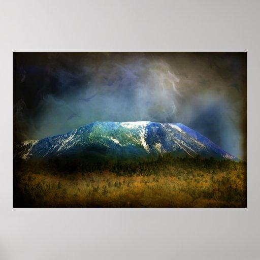 Magical Mountain Print