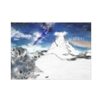 Magical Mountian Canvas Print