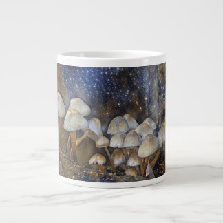 Magical Mushroom Giant Coffee Mug
