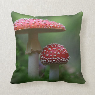Magical Mushrooms Pillow