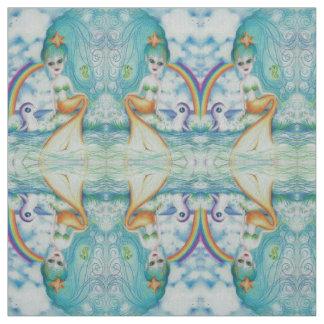 Magical mystical mermaid fabric