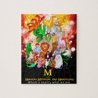 Magical Mythical and Marvellous Creatures Puzzle