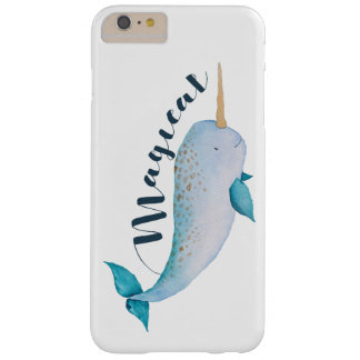 Magical narwhal phone case