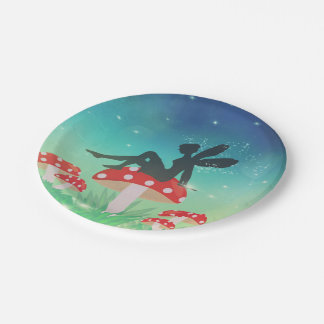 Magical Night Garden 7 Inch Paper Plate