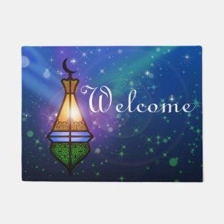 Magical Oriental Lantern - Welcome Door Mat