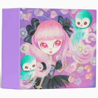 Magical Owls Binder