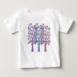 Magical pastel trees baby T-Shirt