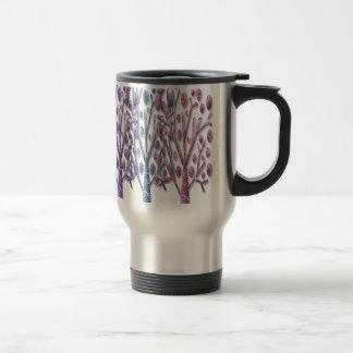 Magical pastel trees travel mug