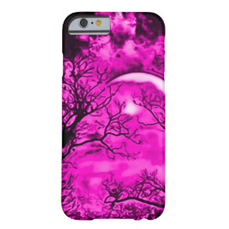 Magical Pink Faerie Moon Airbrush Art Barely There iPhone 6 Case