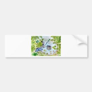 Magical Pond Bumper Sticker