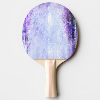 Magical Portal in the Forest Ping-Pong Paddle