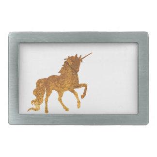 Magical Prancing golden Unicorn various colors Belt Buckle