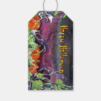 Magical Pumpkins Halloween Hanging Gift Tag Pack Of Gift Tags