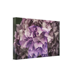 Magical purple canvas print