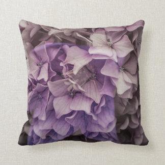 Magical purple throw pillow