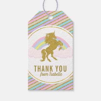 Magical Rainbow Unicorn Gift Hang Tag