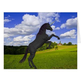 Magical Rearing Unicorn Big Greeting Card