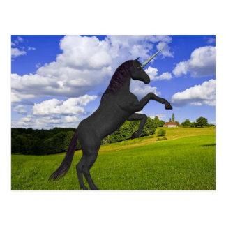 Magical Rearing Unicorn Postcard