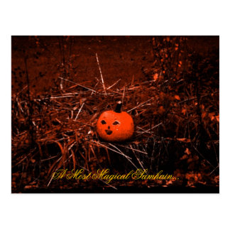 Magical Samhain Postcard