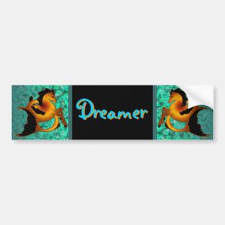 Magical Sea Horse Collection Bumper Sticker