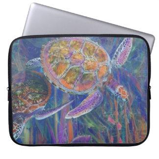 Magical Sea Turtles Laptop Sleeve