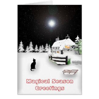 Magical Season Greetings Card