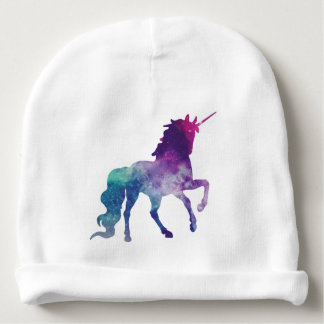 Magical Sparkly Prancing unicorn Baby Beanie