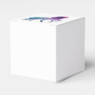 Magical Sparkly Prancing unicorn Favor Box