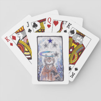 Magical Star Wolf Playing Cards