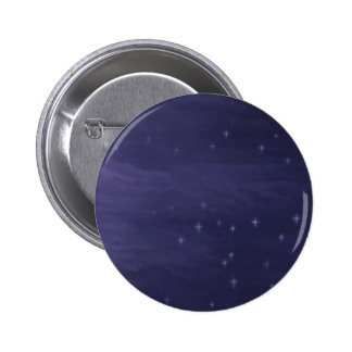 Magical Starry Night 2 Inch Round Button