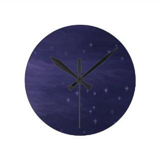 Magical Starry Night Clocks