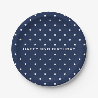 MAGICAL STARRY NIGHT PAPER PLATE