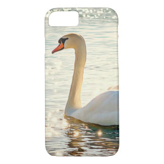 Magical Swan in Lake Cell Phone Case