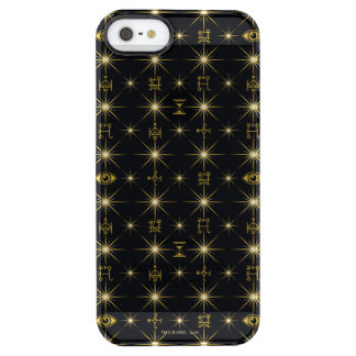 Magical Symbols Pattern Clear iPhone SE/5/5s Case