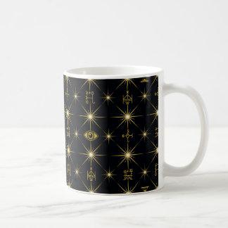 Magical Symbols Pattern Coffee Mug