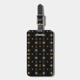 Magical Symbols Pattern Luggage Tag