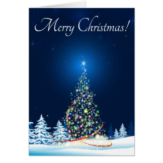 Magical Tree Christmas Card