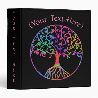 Magical Tree of Life 3 Ring Binders