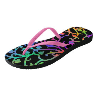 Magical Tree of Life Flip Flops