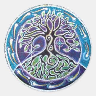 Magical Tree of Life  Mandala Sticker